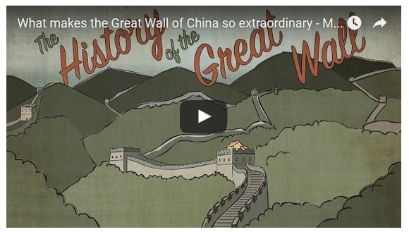 TedEd What Makes the Great Wall Great